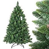 FairyTrees künstlicher Weihnachtsbaum Premium Tannenbaum Chrisbaum künstlich Kunstbaum künstliche Weihnachtsbäume *RIESENAUSWAHL