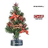 PEARL Weihnachtsbaum fürs Auto: USB-Weihnachtsbaum mit LED-Farbwechsel-Glasfaserlichtern (Mini Weihnachtsbaum fürs Auto)